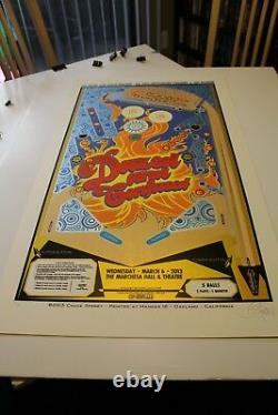 Dazed And Confused Chuck Sperry Poster Print Limited Edition Rare Htf 20x35