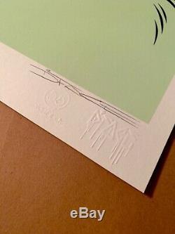 Dface Careless Whispers Signé Art Print Dface District 13 Paris X / 140 Invader