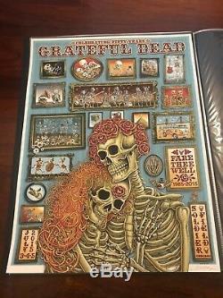 Emek Grateful Dead Art Poster Print Soldat De Champ De Chicago Vous Va Bien Gd50