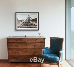 Ernie Barnes Destination Inconnue Lithographie D'art Signée 1979