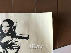 Extra Rare! Authentique! 2002 Banksy Poster Prints Vintage Original (kaws)