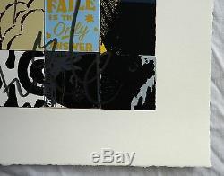 Faile Doux Péchés Brooklyn 2015 Rare Complet Screenprint. XX / 500