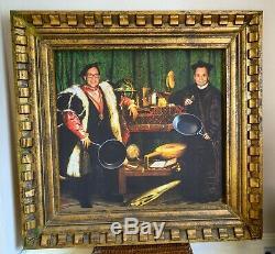 Framed Print Énorme De Reeves & Mortimer, Copie Des Ambassadeurs, 66 Satiriques