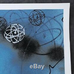 Futura 2000 Urban Spre Print Sky / Blue