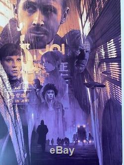 Gabz Blade Runner 2049 Affiche D'impression Écran Variante Mondo Grzegorz Domaradzki