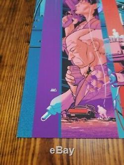 Ghost In The Shell Variant Foil Martin Ansin Mondo Affiche Du Film Gits