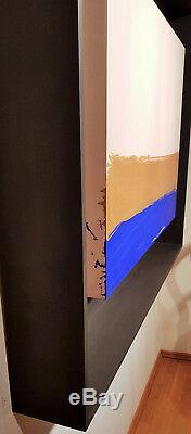 Guenther Uecker Gemälde Handsigniert Unikat Original 118 X 146 X 18 CM