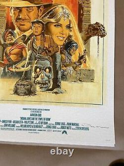 Indiana Jones Ap Prints Par Paul Mann Art Print Poster Raiders Movie Trilogy Set