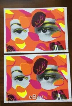Insecte Paul Theres More À L'étage Galerie Allouche Paris Mini Imprimé Orange (x1)
