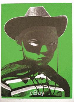 Insecte Paul Vert Bighead Grosse Tête D'art Imprimer Pow Photos Sur Des Murs Pas Banksy