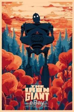 Iron Giant De Kilian Eng Affiche Print Art Ltd Mondo Durieux Horkey Stout