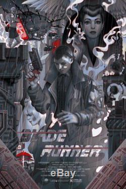 James Jean Blade Runner Variante Ltd X / 40 Rare Art Print Affiche Print Nt Mondo