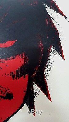 Jamie Gorillaz Murdoc Hewlett Imprimer Numéroté Pow