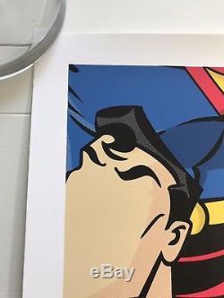 Jerkface Superjerk Superman Affiche Affiche Kaws Banksy Shepard Fairey Obey Gondek