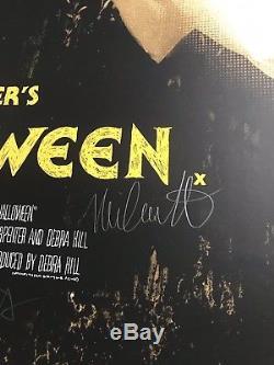 Jock Halloween Affiche Signée John Carpenter Mondo Michael Myers Edmiston