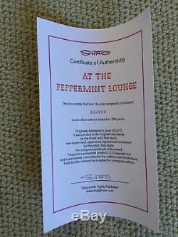 Josh Agle Shag Peppermint Lounge Les Crampes Imprimer Art Avec Coa MID Century Modern