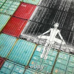 Jr Dans Le Mur Des Conteneurs, Le Havre, France, 2014 Not Banksy, Invader, Kaws