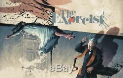 Js Rossbach Variante Exorcist Affiche Brillante Dans Le Noir Gitd Bottleneck Poster Friedkin