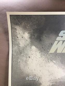 Karl Fitzgerald Star Wars Un Nouvel Espoir Sérigraphie Private Commission Mondo Style