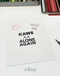 Kaws Mocad Affiche D'impression Limitée Compagnon Bff Signée 2019