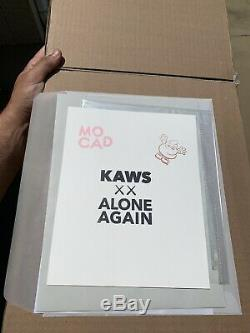 Kaws Mocad Édition Limitée Poster Companion Bff Signé 2019