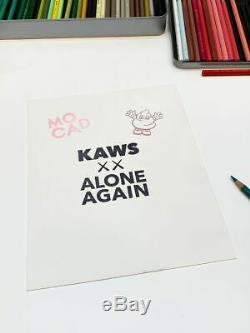 Kaws X Mocad Edition Limitée Estampe Signée 2019