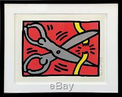 Keith Haring Pop Boutique III (2) 1989 Signé Pop Art Screenprint Autres Avail