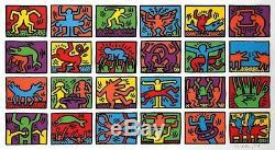 Keith Haring Retrospect 1989 Handsigniert Nummeriert Vice-président Exécutif 225.000 Eur