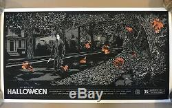 Ken Taylor Halloween Variant Ap Edition Affiche Affiche Art Mondo # 7/28