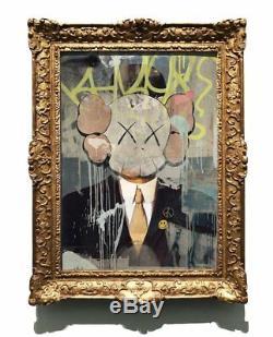 Kenny Random Portrait Kaws XX / 10 Invader Obey Plush Brainwash Pez Whatson Banksy