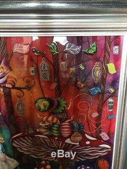 Kerry Collection Darlington Alice Au Pays Des Merveilles Alice Meets The Caterpillar