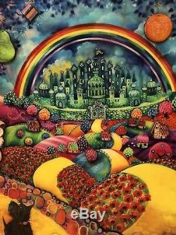 Kerry Darlington Preuve D'artiste De Journey To Emerald City