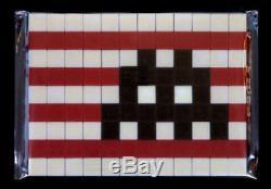 Kit D'invasion Space Invader L. A. Édition Limitée À 300 Exemplaires Signée Et Numérotée De 2018