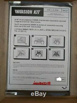 Kit D'invasion Space Invader La 2018 Kaws Édition Limitée Signée Et Numérotée