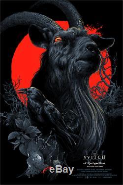 La Sorcière Noire Vvitch Phillip Blacklight Vance Kelly Poster Mondo