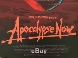 Laurent Durieux Affiche Print Mondo LIM Reg Edition Apocalypse Now