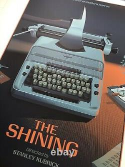 Laurent Durieux Signed The Shining Signed Mondo Movie Print Poster Jaws Kubrick