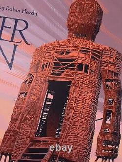 Laurent Durieux The Wicker Man Mondo Film Print Poster Jaws Halloween Midsommar