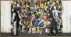 Le Cycle D'impression Martin Whatson Limited Set Diptyque Imprime Street Art Graffiti