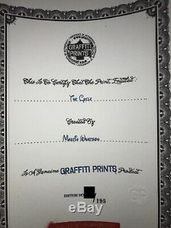 Le Cycle Diptyque Par Martin Whatson 2 Giclee Art Prints 60x60 CM Édition De 195