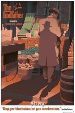 Le Parrain De Laurent Durieux Ltd X/325 Screen Print Poster Art Mint Mondo