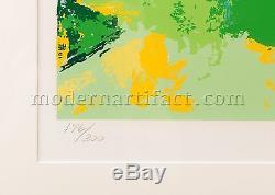 Leroy Neiman Signé Limited Us Ouvert Oakmont Golf Art Peinture Meilleure Offre