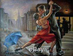 Limitée Edition Par Ellectra Tango Flamenco Dancers / Érotiques Saint-valentin Huile