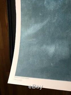 Mâchoires Roger Kastel Signé Le Mondo Shark Imprimer Movie Poster Art Steven Spielberg