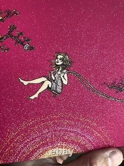 Marq Spusta Spring Swing Small Edition Mini Art Print Poster Ruby Magenta Papier