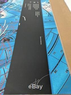 Martin Ansin Ghost In The Shell Variant Foil Mondcon 1 Mondo Poster Screenprint