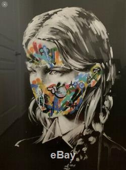 Martin Whatson + Sandra Chevrier Original Visage Peint La Cage Pp + Coa 2016