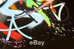 Martin Whatson Snik Souvenirs S'estompent Loin Peinture À La Main Urbain Street Art Impression Toile