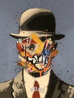 Martin Whatson Son Of Art Screen Man Soie Imprimer # X / 100 Gaufrée Et Numérotée