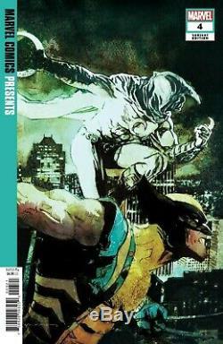 Marvel Comics Présente Le # 4 De Bill Sienkiewicz 1 Sur 50 Couverture Variante Faible Run